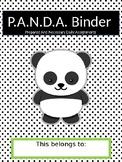 Panda Binder: Student organization tool and parent communi