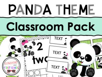 Panda Classroom Decor