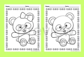 Panda Coloring Pages - 8 Designs