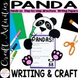Panda Craft | Wild Animal Crafts | Zoo Crafts