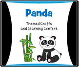 Panda Crafts, Literacy and Math