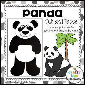Panda Cut and Paste