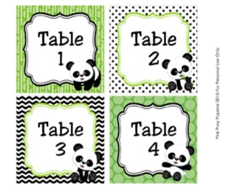 Panda Decor Mini Bundle