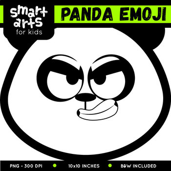 Panda Emoji Clip Art
