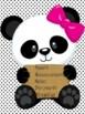 Panda Folder Covers