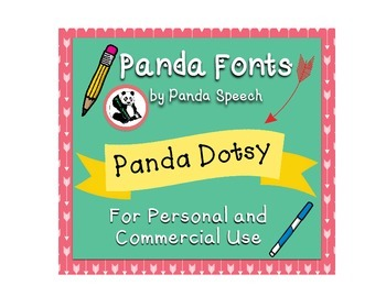 Panda Fonts: Single Font: Panda Dotsy