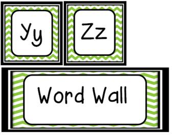 Fabulous Freebie :Word Wall
