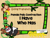 Panda Pals Contraction I Have Who Has