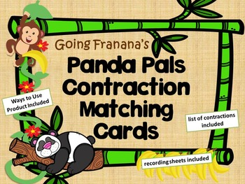 Panda Pals Contraction Matching & Concentration