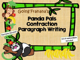 Panda Pals Contraction Paragraphs