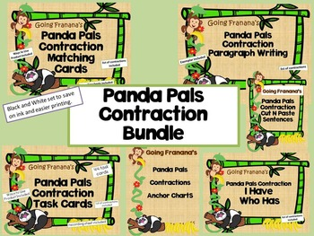 Panda Pals Contractions Bundle