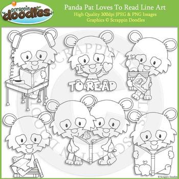 Panda Pat Loves to Read