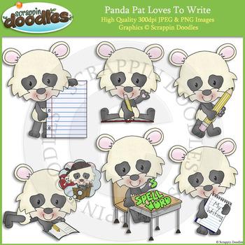 Panda Pat Loves to Write