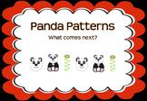 Panda Patterns - What Comes Next?