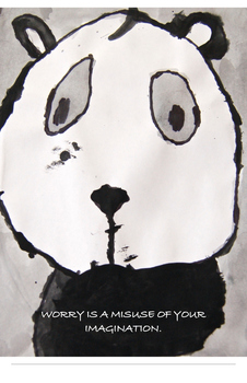 Panda Poster For Classrooms K-3