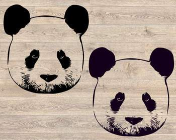 Panda SVG Cute Panda SVG Cartoon Panda Panda Clipart Panda Files 953s