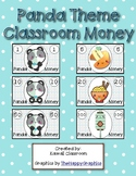 Panda Theme Classroom Money