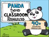 Panda Theme Decor Pack