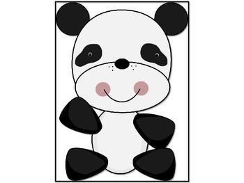 Panda Theme Decorations {Talking Pandas}