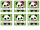Panda Theme Editable Square Labels