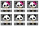 Panda Theme Editable Square Labels