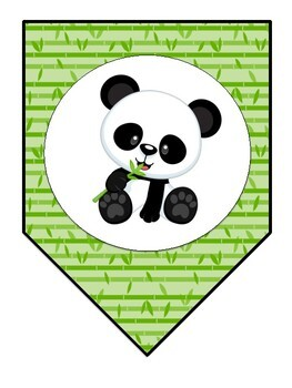 Panda Themed Welcome Banner