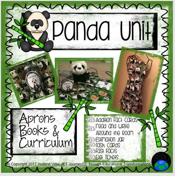Panda Unit (Literacy and Math Activities)