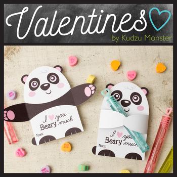 Panda Valentine Candy Hugger