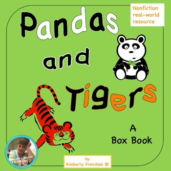Panda and Tigers Box Book: Unique Introduction to Informational Text