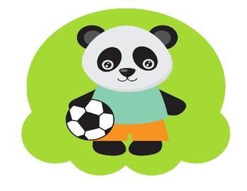 Panda build an ice cream large size reward for VIPKID, Gogokid, online ESL