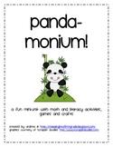 Panda-monium! A fun, first grade panda mini-unit!