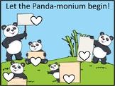 Panda -monium morning routine chart
