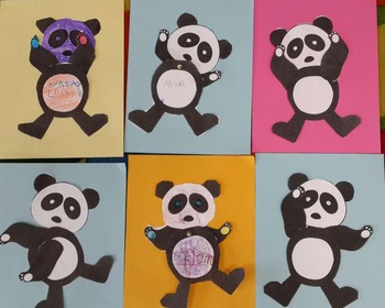 Panda puppet - 5 Senses puppet