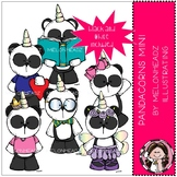 Pandacorn clip art - Mini - by Melonheadz