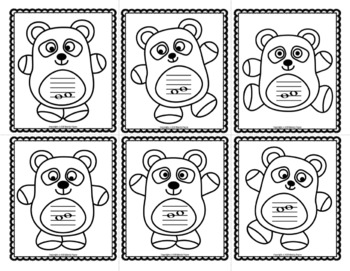 Intervals Flash Cards: Pandamonium! {Color and Ink-Friendly Panda Cards}