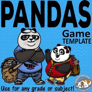 Pandas Bomb Game Template