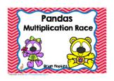 Panda Bears Multiplication Race
