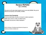 Panda's PEMDAS