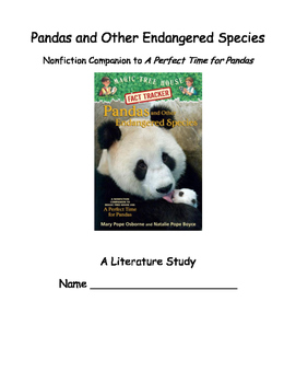 Pandas and Other Endangered Species -- A Literature Study
