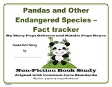 Pandas and other Endangered Species Fact Tracker Common Core Study