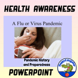 Pandemic Coronavirus or Flu PowerPoint - Being Prepared Distance Learning