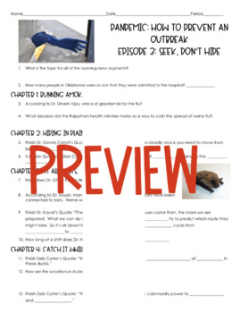 Pandemic: How to Prevent an Outbreak (Episode 3- Seek, Don't Hide)