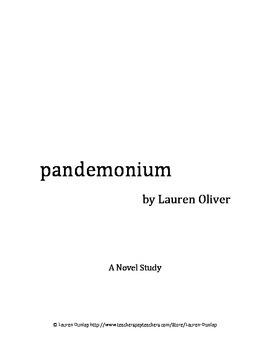 Pandemonium by Lauren Oliver Novel Study