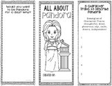 Pandora - Greek Mythology Biography Research Project - Interactive Notebook