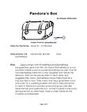Pandora's Box - Small Group Reader's Theater