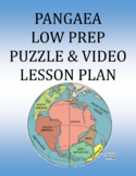 Pangaea: Continental Drift - Puzzle & Video Lesson Plan w\