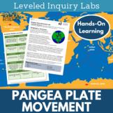 Pangaea Plate Movement Inquiry Labs