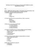 Pangaea and Continental Drift: Test