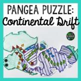 Plate Tectonics: Pangea Puzzle: Print and DIGITAL Versions