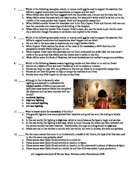 Pan's Labyrinth Film (2006) Matching and Multiple Choice Quiz